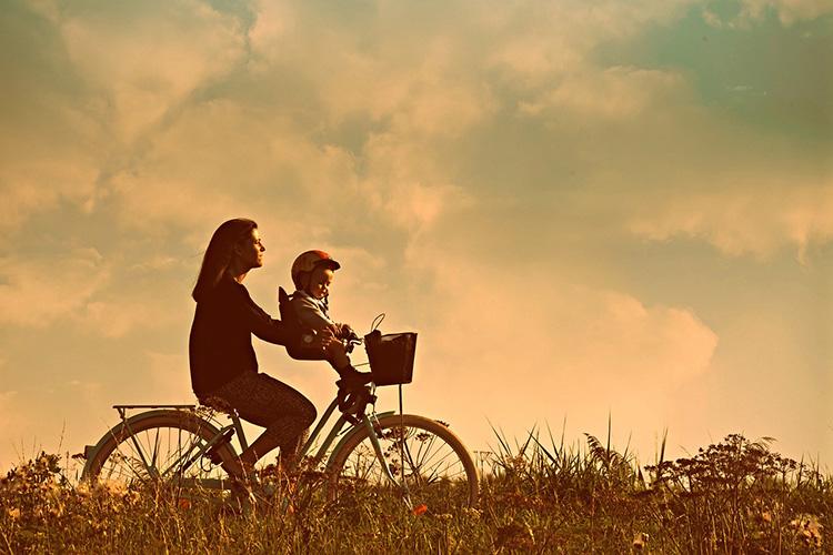 foteliki dziecięce na rower