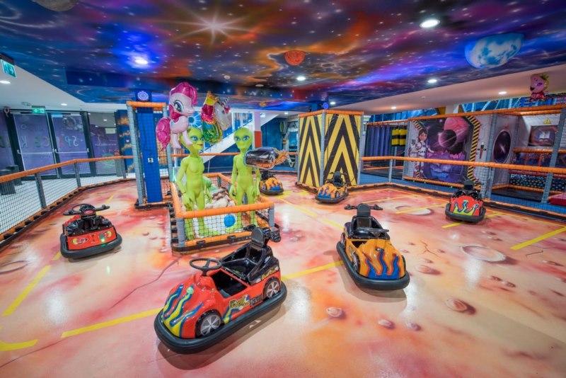 sala zabaw dla dzieci w warszawie Airo Space Kids