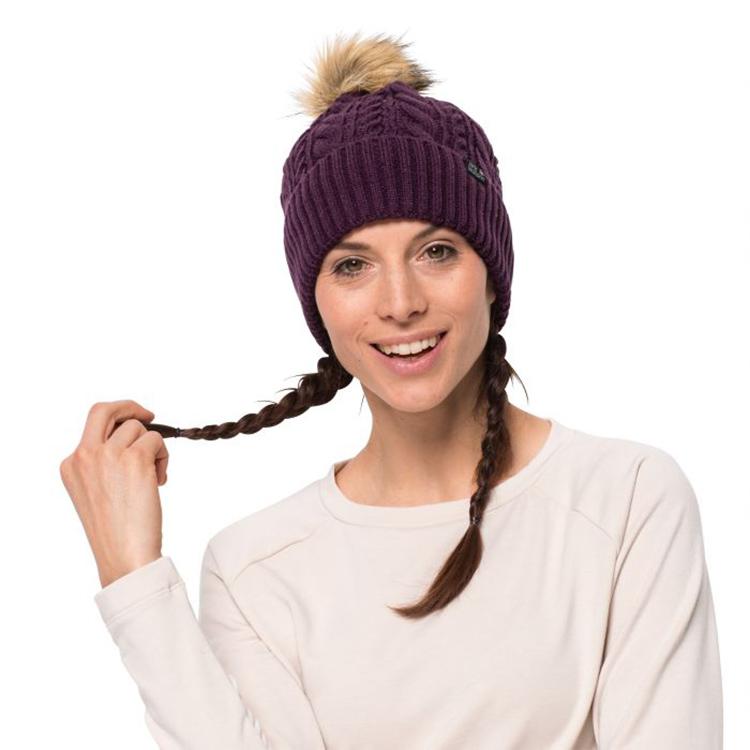 czapka zimowa dla kobiety