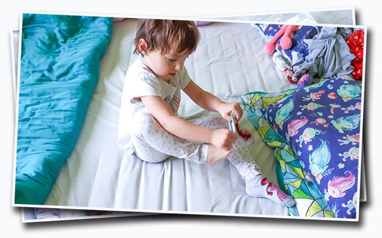 jak nauczyć dziecko ubierać się