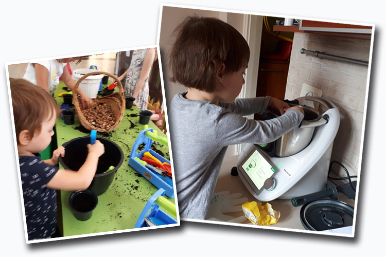 nauka obowiązków domowych dla dzieci