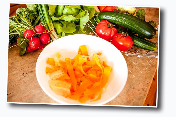 marchewkowe frytki dla dzieci