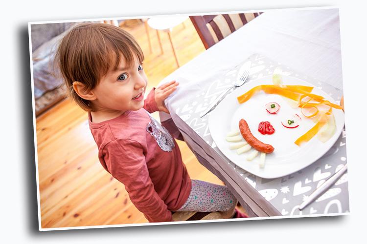 kanapki z warzywami dla dzieci