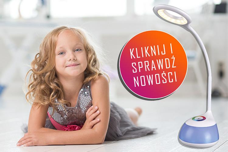 lampki biurkowe led dla dzieci