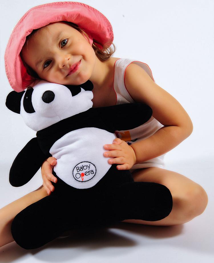 panda baby opera