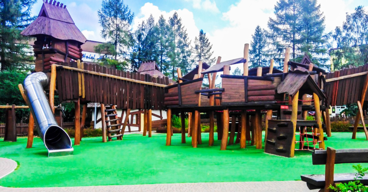Plac zabaw dla dzieci Zakopane ul. Słoneczna