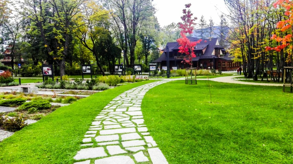 park miejski Józefa Piłsudskiego Zakopane