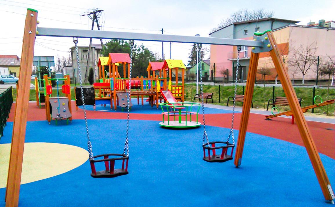 plac zabaw dla dzieci w Psarach
