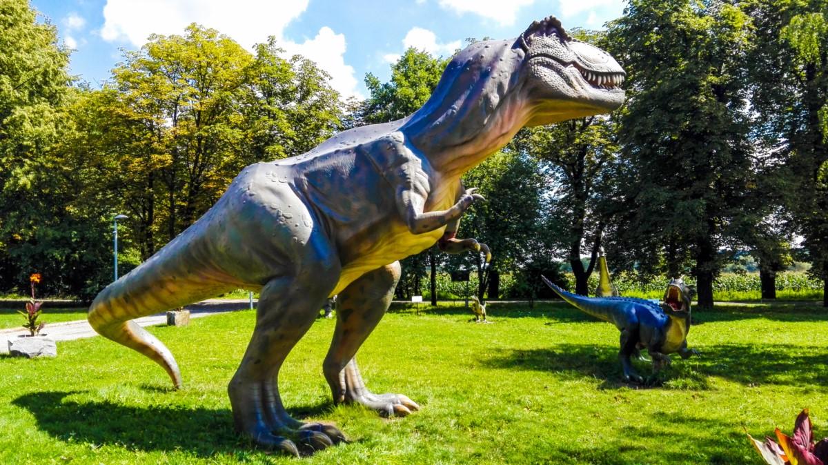 park dinozaurow Siemianowice śląskie