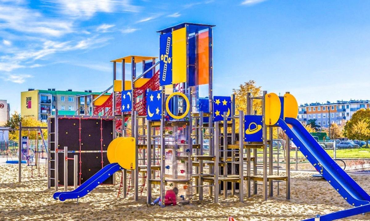 plac zabaw dla dzieci w rumii