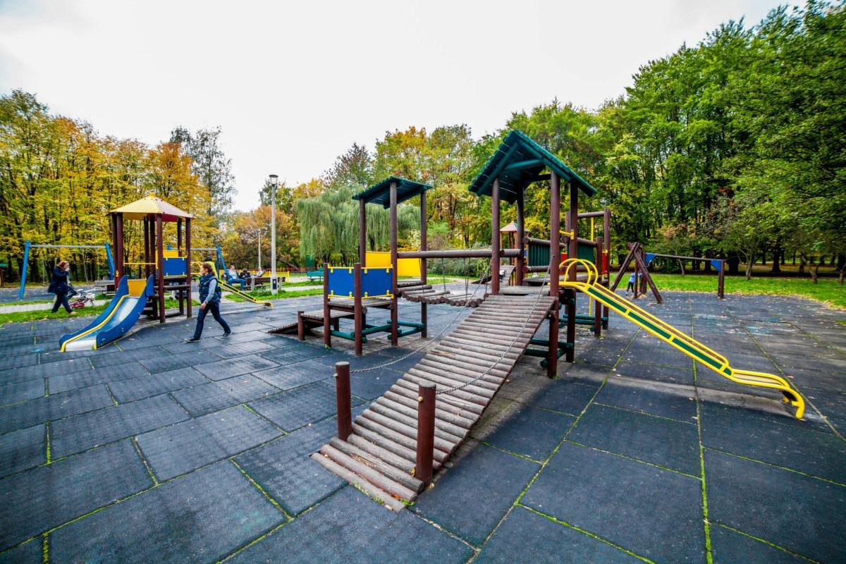 plac zabaw dla dzieci Kraków park lotników Polskich