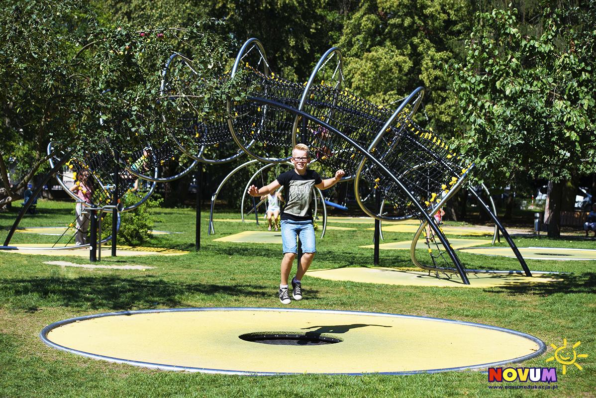 park trampolin Warszawa Bielany